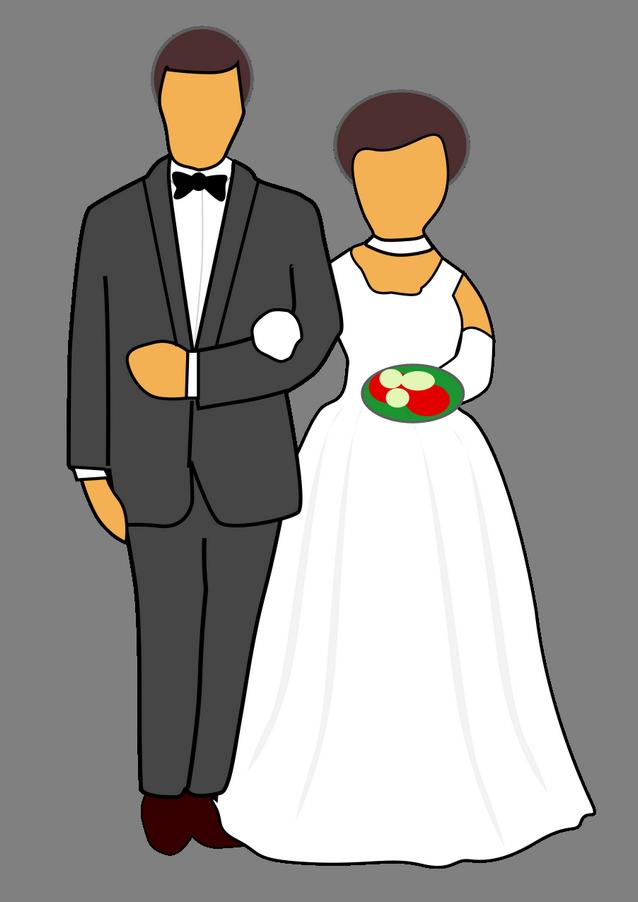 Přání pro novomanžele, romantika, láska - Blahopřání k svatbě novomanželům