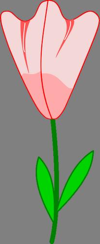 Obrázkové a textové blahopřání k narození dítěte, květina k svátku.
